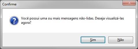 Mensagem não-lida