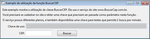 ExemploBuscarCEP