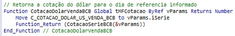 ExemploCotacaoSerieBCB