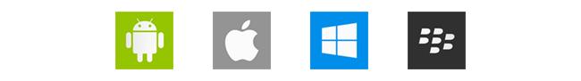 Sistemas operacionais com suporte ao Aplicativo de Leitura Kindle: Android, iOS, Windows e Blackberry.